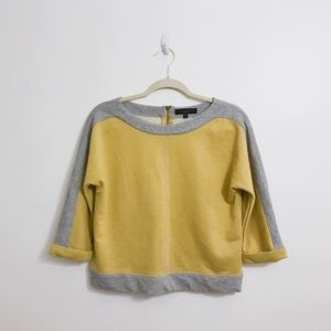 Sanctuary Yellow & Grey Top